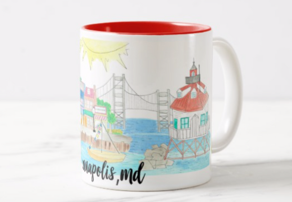Annapolis, MD Coffee Mug