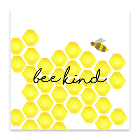 be kind bumble bee print