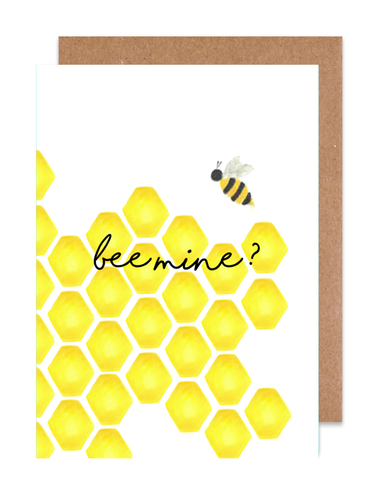 Bee mine? Card