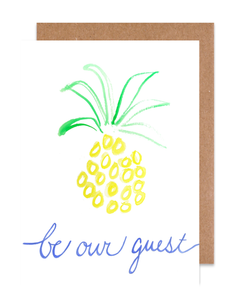 Be our guest Card