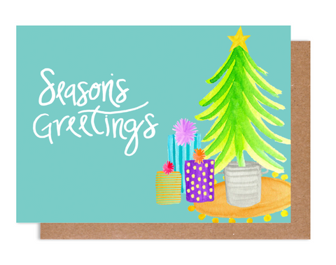 Season's Greeting Holiday Card