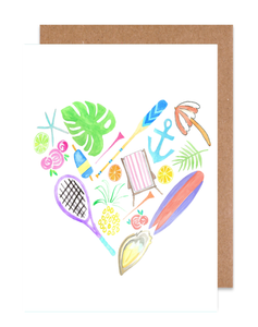 Coastal Love Card