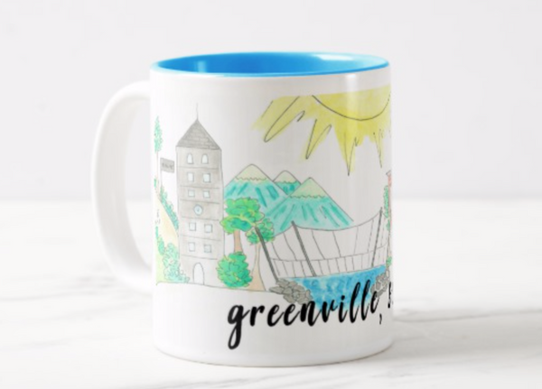 Greenville, SC Coffee Mug