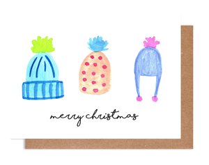 Holiday Hats Holiday Card