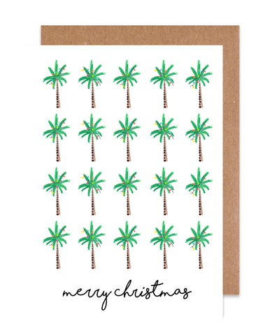 Christmas Palms Holiday Card