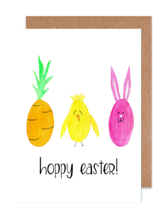 Hoppy Easter Card