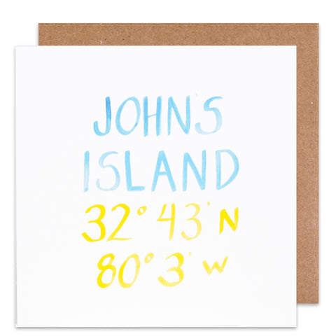 johns island coordinate card