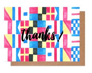 Maritime Thanks! Card