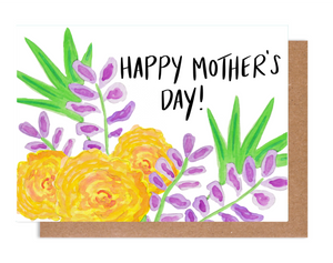 Happy Mother's Day Tropical Card
