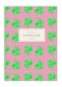 Notebook Dot Journal Palms