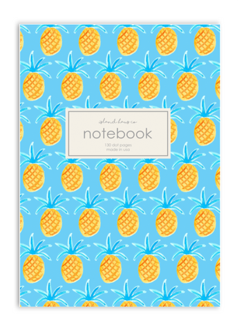 Notebook Dot Journal Pineapple