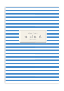 Nautical Stripes Notebook