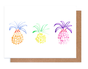 Pineapple trio Card