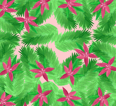 Holiday Poinsettia Gift Wrap