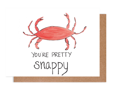 You're pretty snappy Card