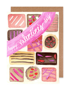 Chocolate Valentine Card