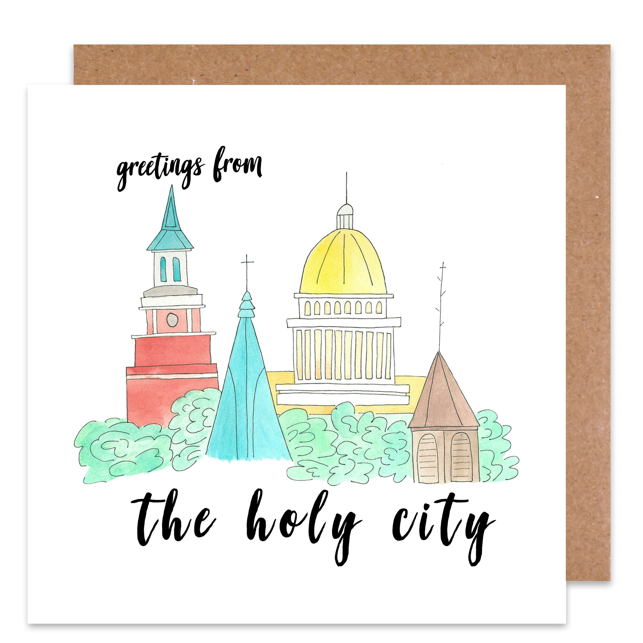 charleston south carolina card pack