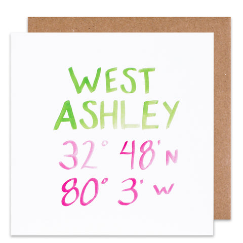 west ashley coordinate card