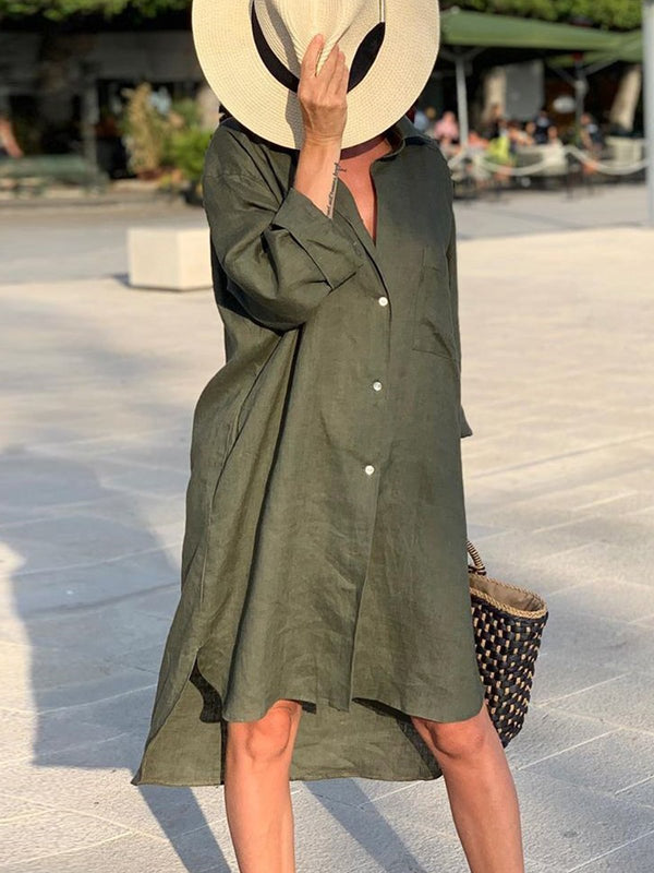 Vacation loose casual dress