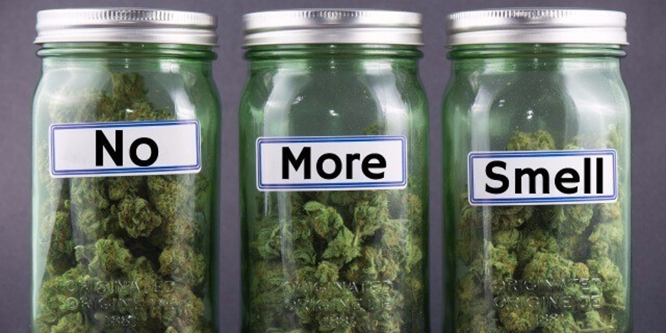 no more smell weed jars for cannabis by El Capitan