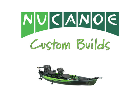 NuCanoe Customs | Frontier 12 Tandem Fishing Kayak