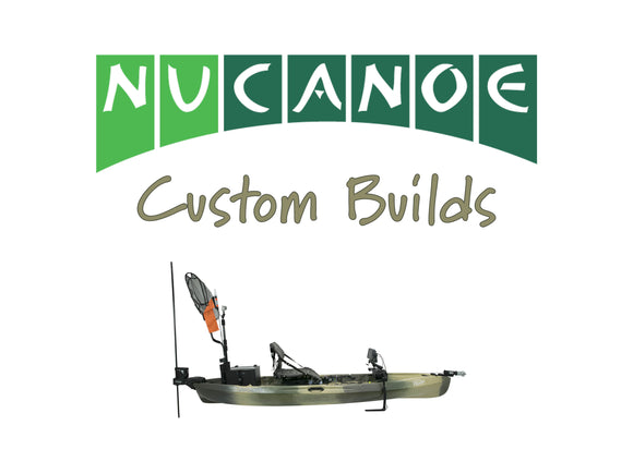 NuCanoe Customs | Flint Big Water & Tournament Setup