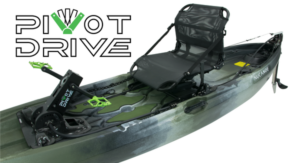 [Pre Order] Frontier 10 (F10) NuCanoe Pivot Drive - Pedal System