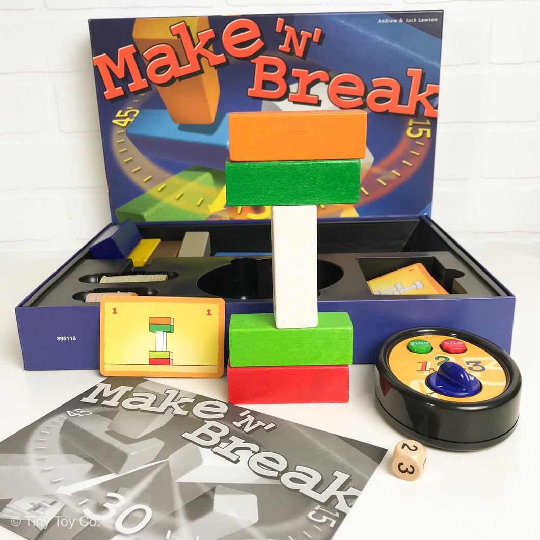 Make 'N' Break Building Challenge Game
