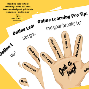 FREE DOWNLOAD: Virtual Learning Breaks Poster