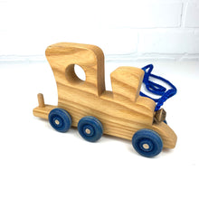 Load image into Gallery viewer, Wooden Name Train (Limited Letters Available)