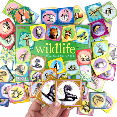 Wildlife Matching Game