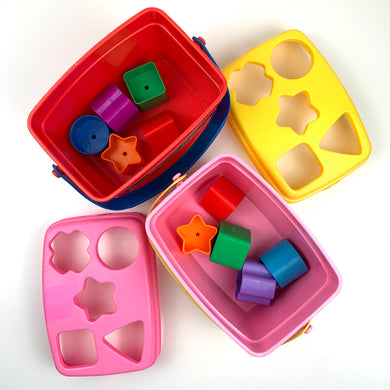 Shape Sorting Bucket & Blocks