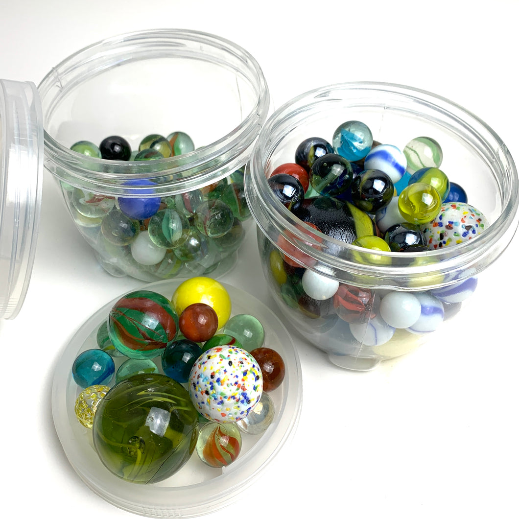 1 lb Jar of Marbles