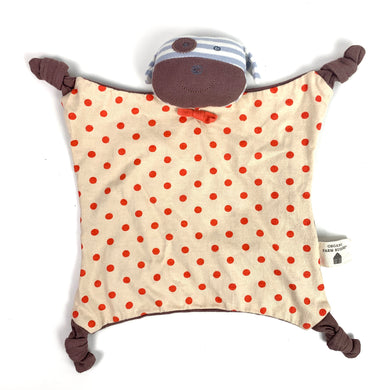 Organic Cotton Lovey: Brown Dog