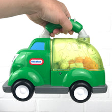 Load image into Gallery viewer, Little Tikes Push-and-Pop Recycling Truck