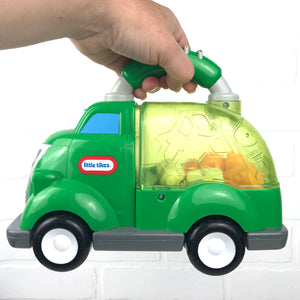 Little Tikes Push-and-Pop Recycling Truck
