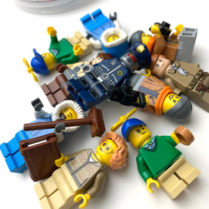 Lego Minifigure Building Set
