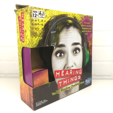 Hearing Things: The Lip-Reading Challenge Game (Ages 12+)