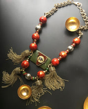 Load image into Gallery viewer, Tembo Tassel Necklace