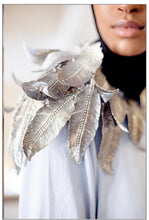 Load image into Gallery viewer, Kimahri Metal Feather Shoulder Piece