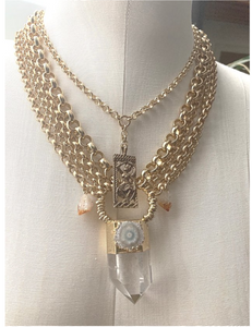 Orisha Quartz Necklace