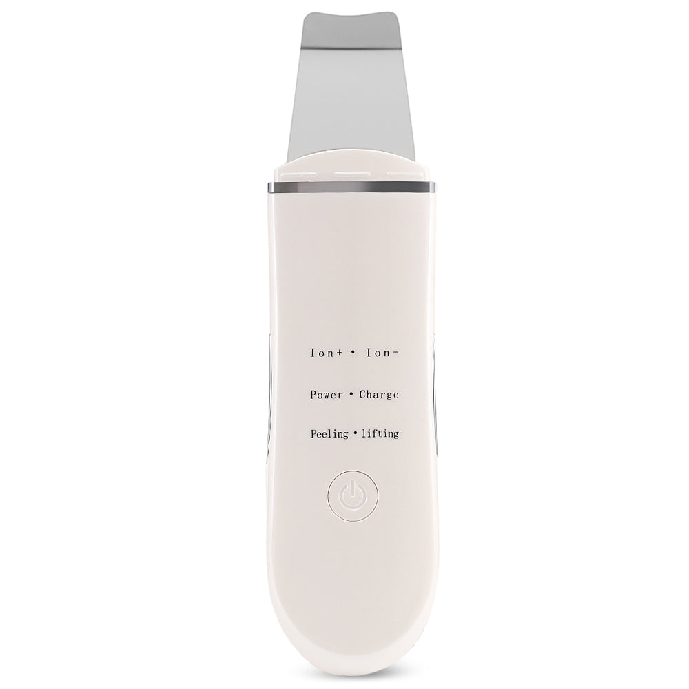 Ultrasonic Ion Skin Cleaner Facial Cleansing Spatula