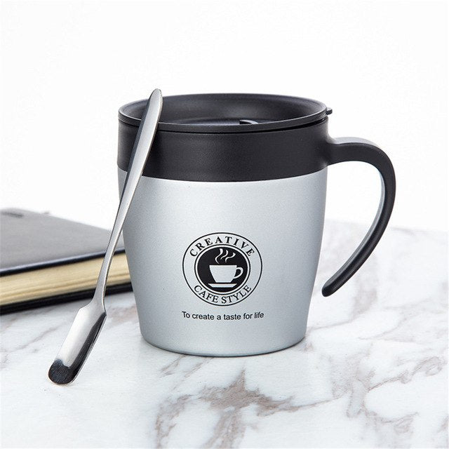 Insulated Stainless Steel Thermo Mug