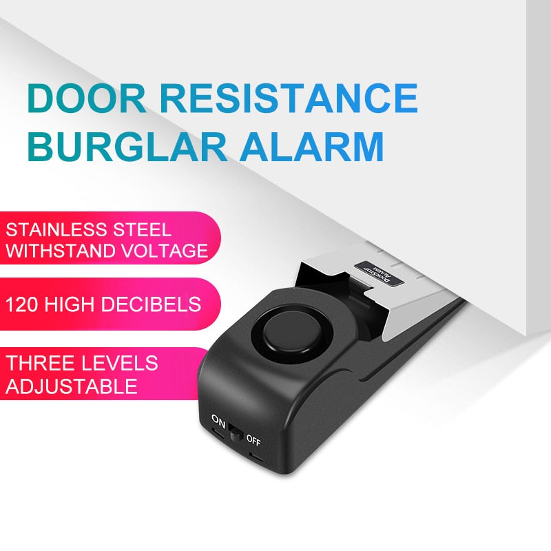 Vibration Activated Door Guard & Alarm