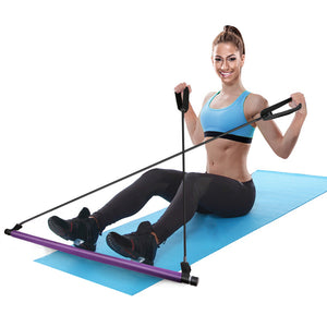 Portable Pilates Exercise Stick Toning Bar
