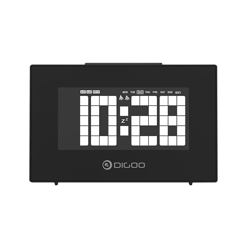 Multifunctional Snooze Alarm & Temperature Display