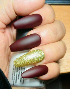 FINDING NEW YEARS NAILS ACRYLIC COFFIN LONG ONLINE
