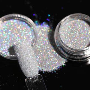 1Box 1g Holographic Glitter Powder