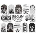 4PCS Set Nail Art Sticker Fruit Banana Peach Avocado Image