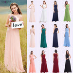 Bridesmaid Dresses Pink Peach Women Elegant